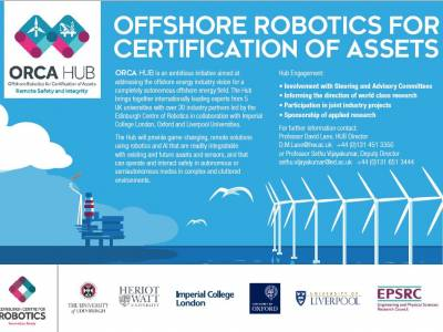 ORCA - Offshore Robotics for Certification of Assets